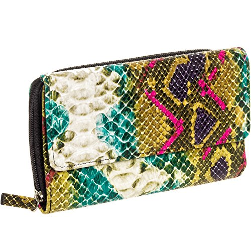 Checkbook Cover Ladies Womans Wallet - 8