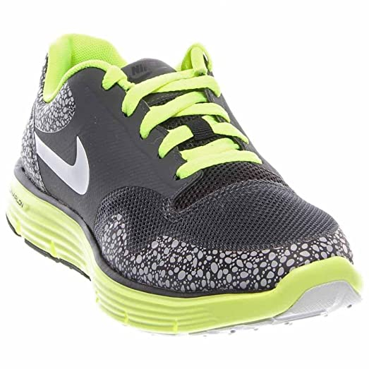 Nike Kids Lunar Safari Fuse (gs) Anthracite Volt 525342-001 5y