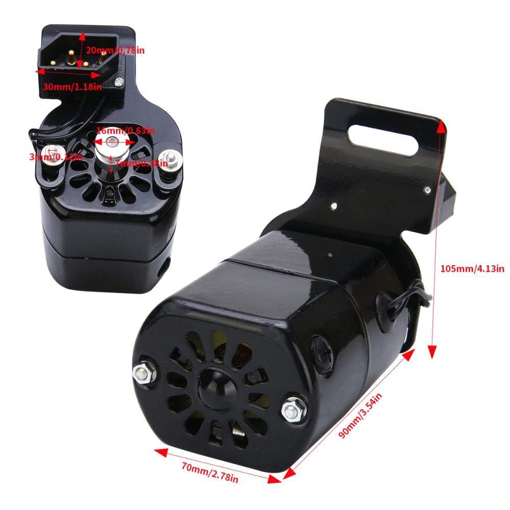 Kit de Controlador LIMMC Universal Home m/áquina de Coser Motor Pedal de pie 220 V 180 W 0,9 A Estilo Antiguo m/áquina de Coser el/éctrica Motor