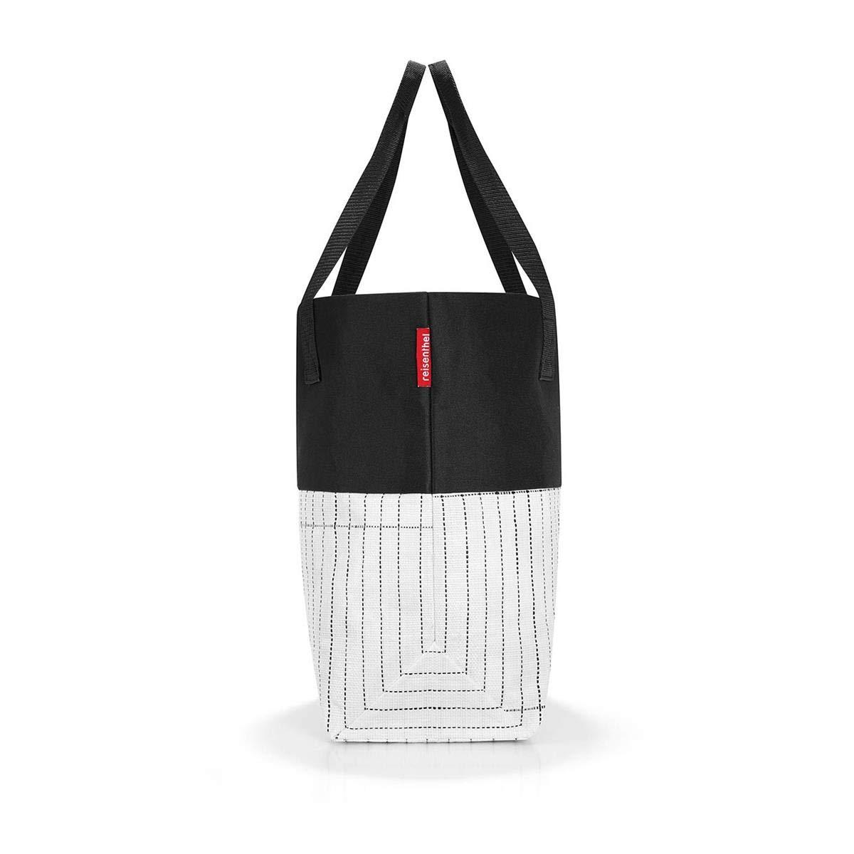 Reisenthel urban Borsone Multicolore 15 liters Black White 48 cm