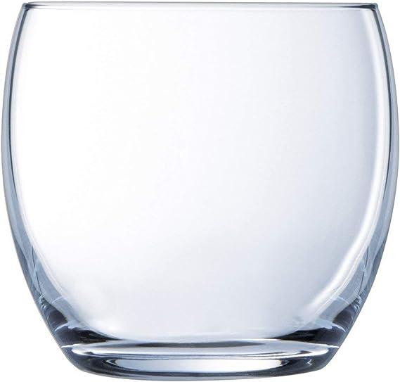 Luminarc 35 Cl Versailles Vasos de Agua, Vidrio sodo: Amazon.es: Hogar