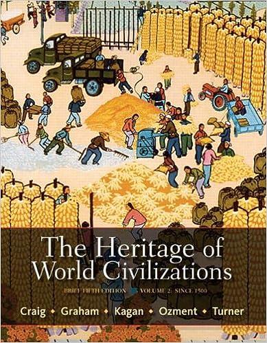 Amazon Com The Heritage Of World Civilizations Brief Edition Volume 2 Ebook Craig Albert M Graham William A Kagan Donald M Ozment Steven Turner Frank M Kindle Store
