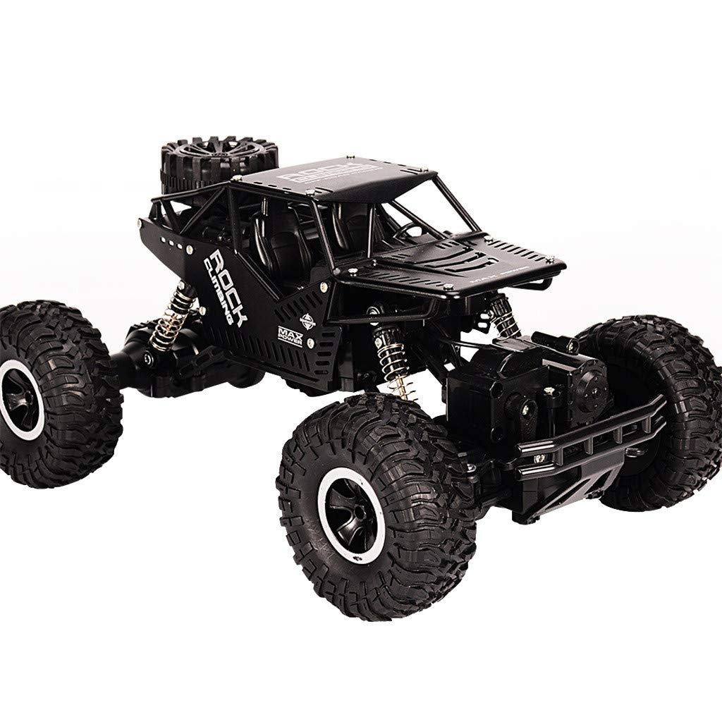 DDLmax Remote Control Car, 1/16 Four-Wheel Drive Alloy Off-Road Remote-Controlled Climbing Car LH-C008S