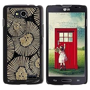 For LG OPTIMUS L90 / D415 Case , Wall Design Art Inspiration - Diseño Patrón Teléfono Caso Cubierta Case Bumper Duro Protección Case Cover Funda