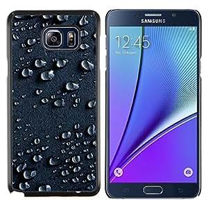Smartphone duro funda protectora para Samsung Galaxy Note 5 5th N9200/funda TECELL tienda/agua lluvia humedad electróforo arte superficie
