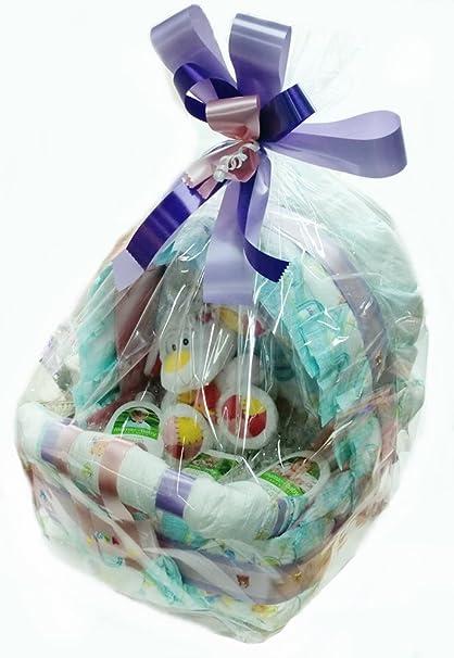 Tarta de Pañales Carrito Bebés de Cosmética Natural Infantil