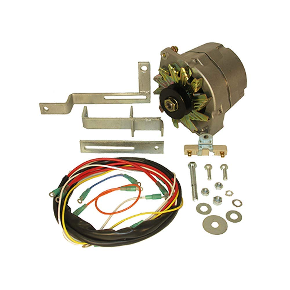 Ford 8n 12 V Conversion Kitside Mount Distributor Volt Further Tractor Wiring Diagram 6 Garden Outdoor