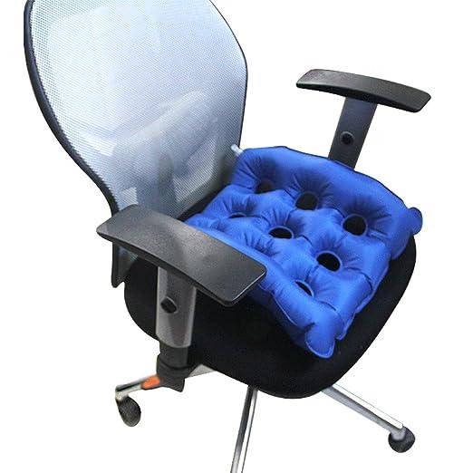 Amazon.com: Halovie Air Inflatable Cushion Anti Decubitus Wheelchair Seat Cushion Air Mattress for Prolonged Sitting: Health & Personal Care
