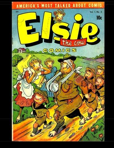 Elsie the Cow Comics #3: 1950 Humor Comic