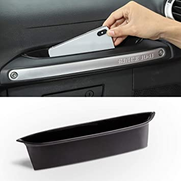 Passenger Grab Handle Storage Tray Organizer for 2011-2018 Jeep Wrangler JK JKU