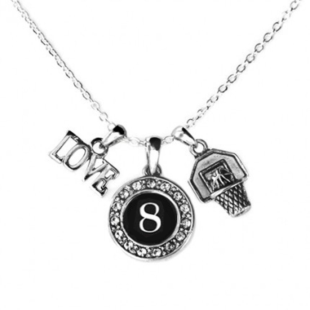 a731e979a3be Amazon.com  MadSportsStuff Custom Player ID Basketball Necklace ( 1 ...