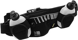 Karrimor Unisex Cintura Corsa Sportivo Sport Running con 2 Bottiglie Nero Taglia unica
