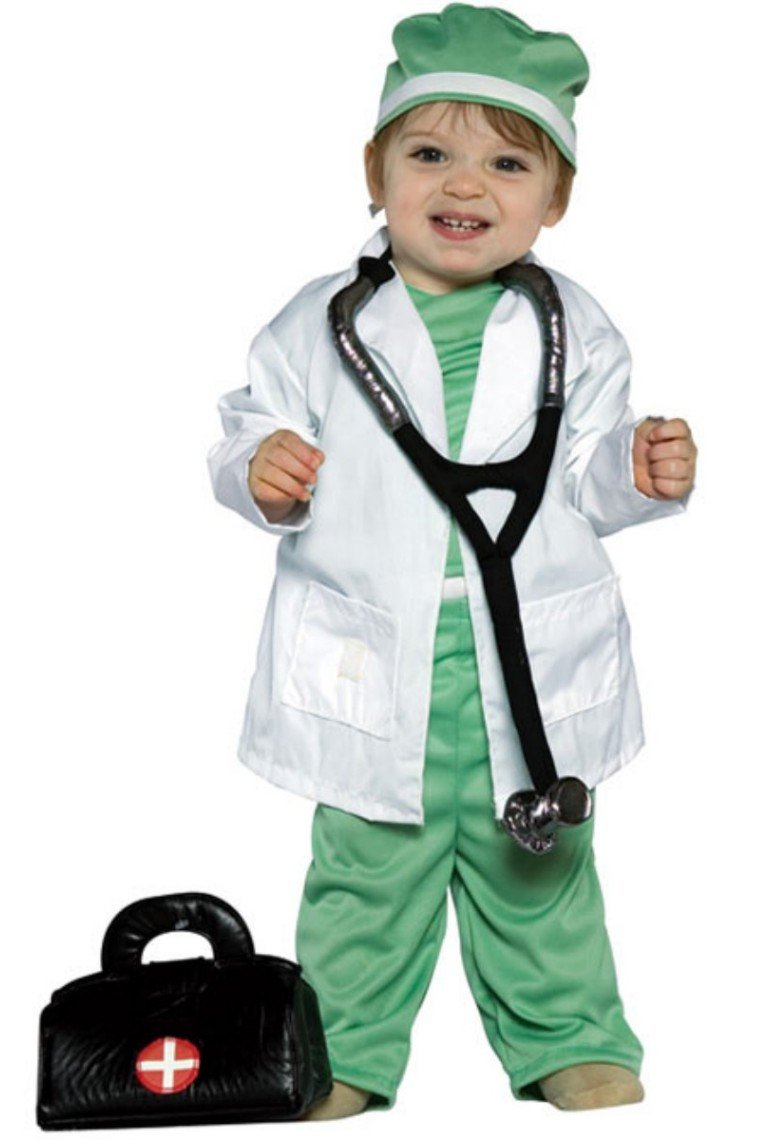 Future Doctor Toddler Costume - Infant Large by Rasta Imposta (Image #1)