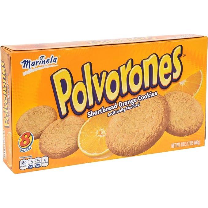 Polvorones Marinela - Shortbread Cookies Orange Flavored 1 ...