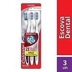Escova Dental Colgate 360º Luminous White 3unid Promo c/ Desconto