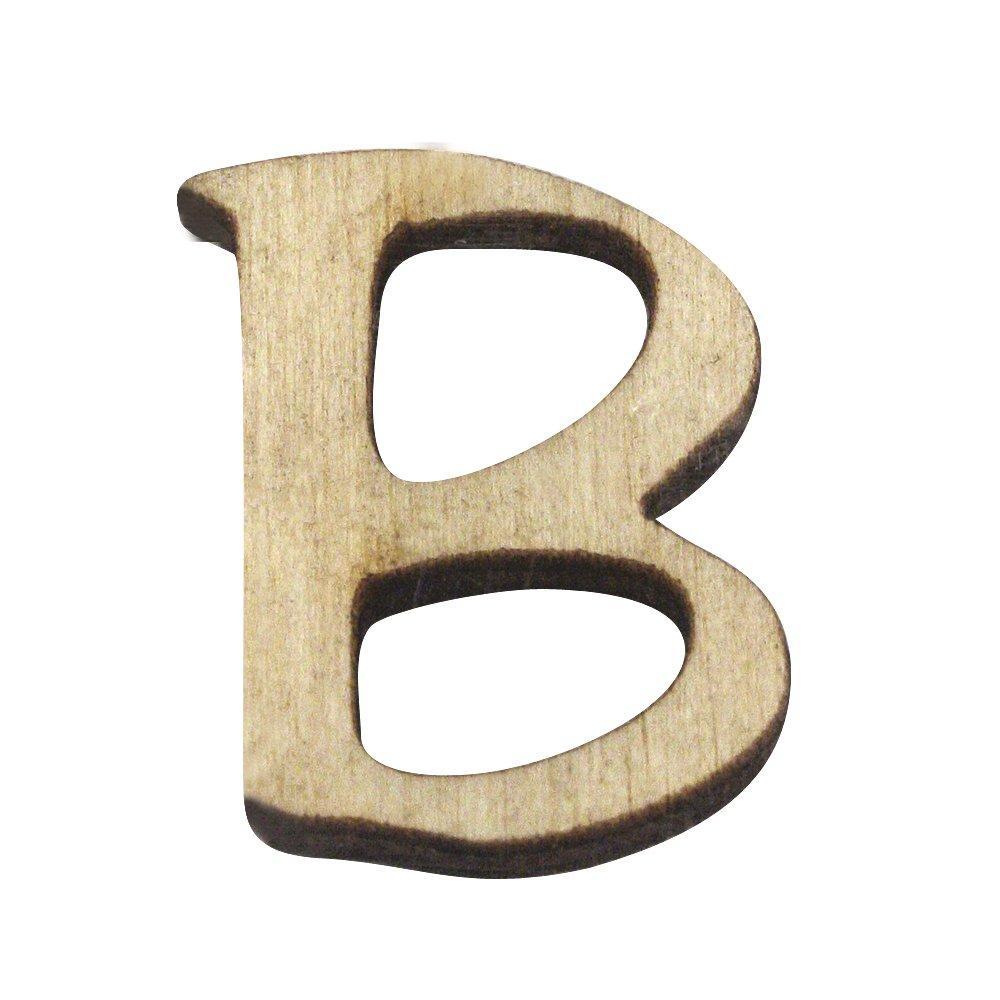B 2/cm RAYHER 6216100/Wooden Alphabet