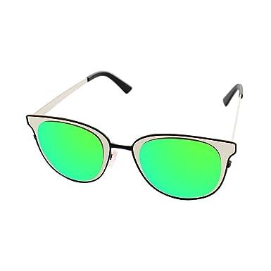 LooKLooK® Gafas de Sol de Moda Estilo Vintage para Mujer ...