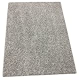 Custom Cut-to-Fit light gray area rug. (9′ x 12′) For Sale