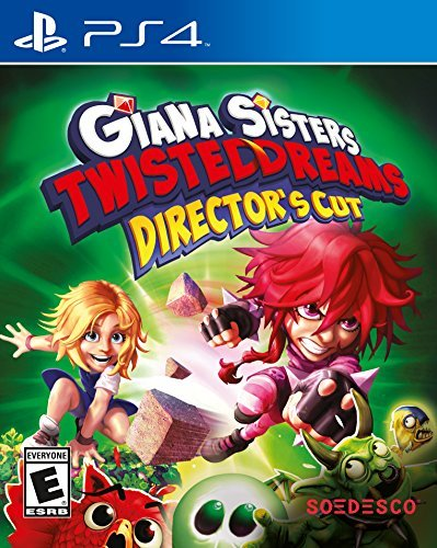Giana Sisters Twisted Dreams Directors Cut - PlayStation 4 by Soedesco (Twisted Sister Console)