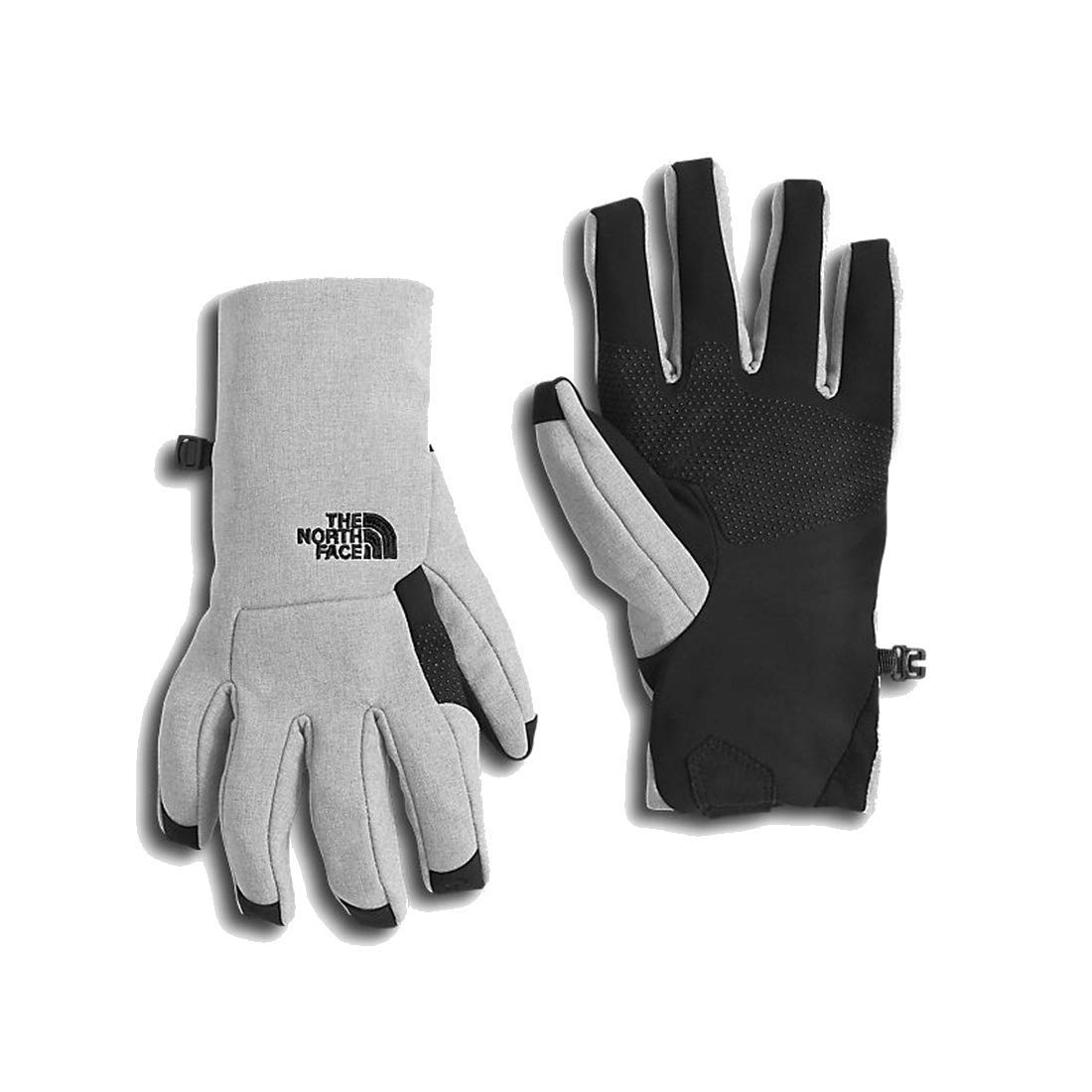 The North Face Womens Etip Glove (Sizes XS - L) - tnf light grey heather, s