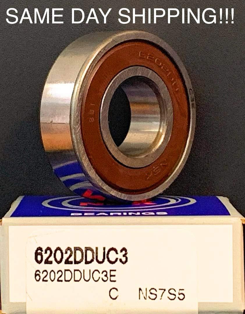 NSK 6205 DDU Deep Groove Radial Ball Bearing 25x52x15mm SAME DAY SHIPPING!!