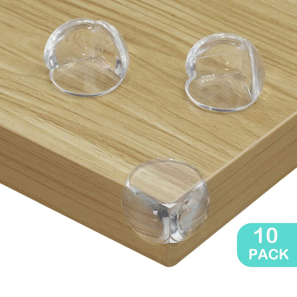 2 Cupboard Straps 2 Baby Safety Finger Pinch Guard Door Stoppers Baby Safety Locks Set 18pcs 10 Clear Corner Protectors No Drill Needed 4 Cabinet Locks Conber Baby Proofing Kit