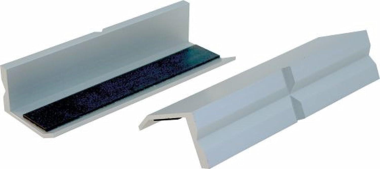 BGS Schraubstock Schutzbacken 125 mm Aluminium Schonbacken Magnet Spann-Backen