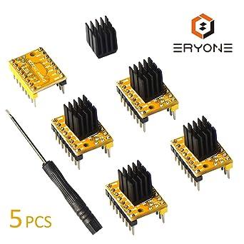 Amazon.com: Eryone TMC2208 TMC 2130 - Controlador de motor ...