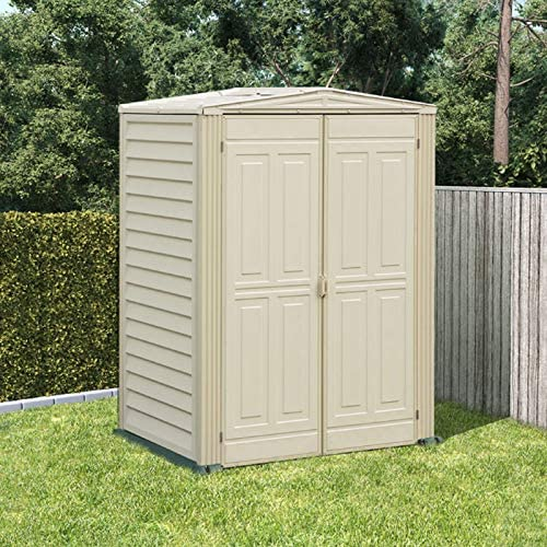 5 x 3 BillyOh yardmate jardín plástico cobertizo de almacenamiento incluyendo suelos de vinilo: Amazon.es: Jardín