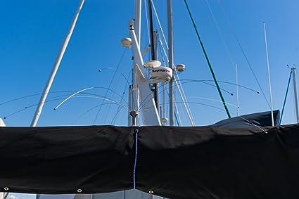 Bird Boat Sweep - Boat Bird Deterrent 8' Diameter & Boat Base