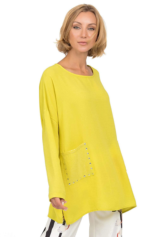 Joseph Ribkoff Women's Top Style 192408 Chartreuse
