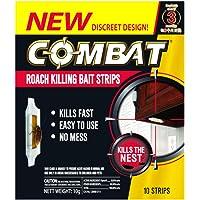 Combat Roach Killing Bait Strips, 10ct