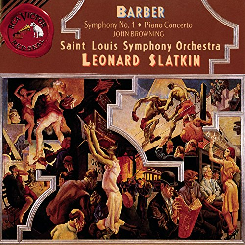 Barber: Symphony No. 1, Piano (Barber Piano Concerto)