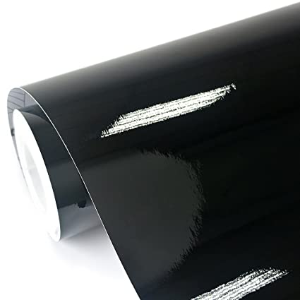TECKWRAP Gloss Black Car Wrap Vinyl Film Sticker 11 5