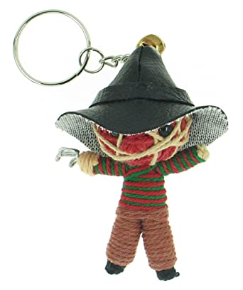 Amazon.com: Freddy Krueger Voodoo llavero de cuerda: Clothing
