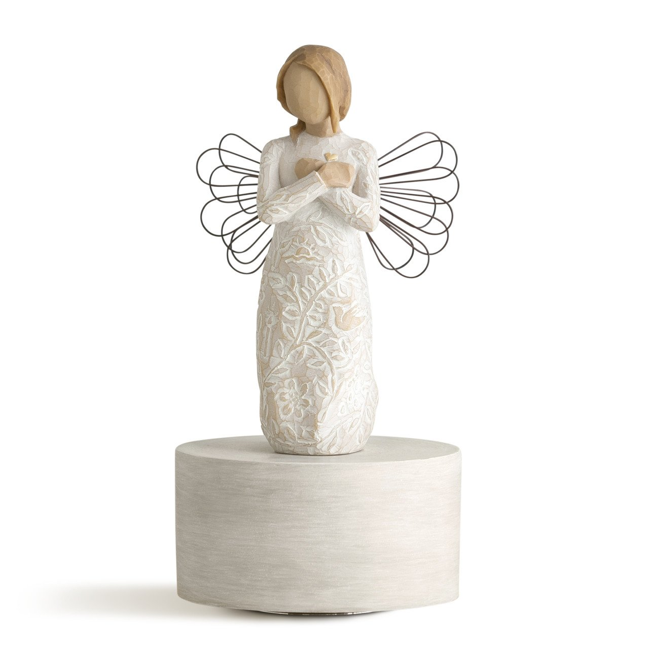Willow Tree Remembrance Musical, sculpted hand-painted musical figure by Willow Tree