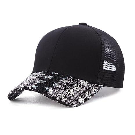YIBANG-hat Sombrero de Dama de Verano con Gorra de béisbol ...