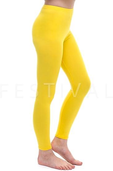 legging sport jaune