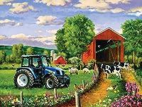 SunsOut Country Lane Jigsaw Puzzle (500-Piece)