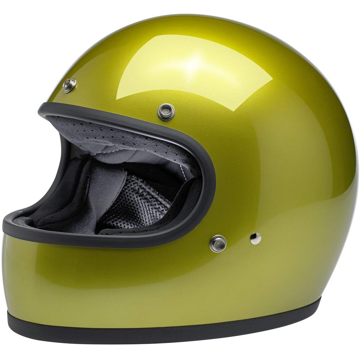 Europa Biltwell Gringo Helm Metallic Sea Weed zugelassen doppelter Zulassung ECE /& DOT Helmet Biker Custom Vintage Retro Anno 70 Gr/ö/ße S America