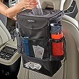 High Road StashAway Car Seat Back Organizer, Trash Bag and Tissue Holder