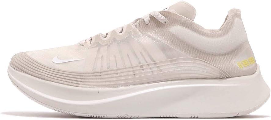Nike Zoom Fly SP, Zapatillas de Running para Hombre, Multicolor (Light Bone/White/Light Bone 002), 45.5 EU: Amazon.es: Zapatos y complementos