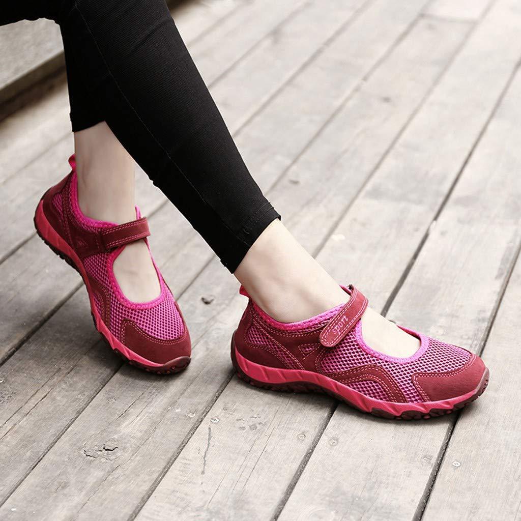 Makalon Chaussures Respirantes pour Femmes D/éT/é,Chaussures /à Fond Souple,Chaussures Antid/éRapantes,Chaussures De Marche Casual