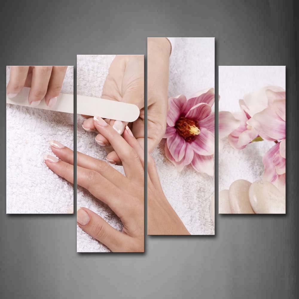 Amazon.com : Nail Salon Price List Poster By Barberwall