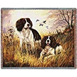 Pure Country 1134-T Springer Spaniel Pet Blanket, Various Blended Colorways, 53 by 70-Inch