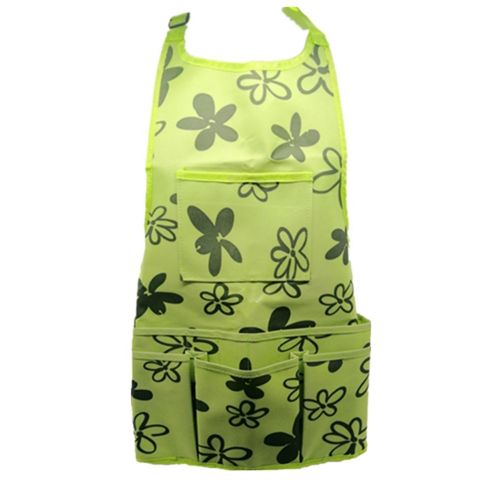 Work Apron Garden Apron for Home Garden,Heavy Duty Work Apron with Tool Pockets Adjustable up to XXL for Men & Women