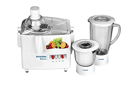 5c5620f89 Image Unavailable. Image not available for. Colour  Hyundai HJS50W2A-DBB Juicer  Mixer Grinder (White)