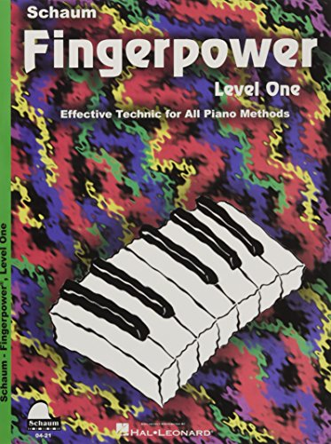 Fingerpower Level 1 (Schaum Publications Fingerpower(r)) [Schaum, John W.] (Tapa Blanda)