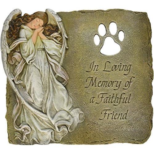 Hot Joseph Studio 63970 Pet Memorial Garden Stone/Plaque with Verse in Loving Memory of a Faithful Friend, 9-Inch hot sale