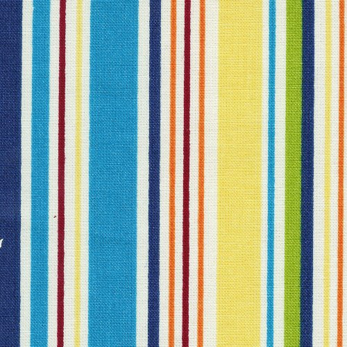 Longaberger Extra Large Canister Basket Sunny Day Stripe Fabric Liner Over the Edge New In Bag